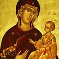Mary Saint Religious Art by Carol Jackson
