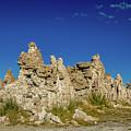 Natural Rock Formation At Mono Lake, Eastern Sierra, California, by Eiko Tsuchiya