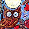 Owl Midnight by Melinda Sullivan Image and Design