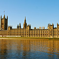 Palace Of Westminster, Houses Of Parliament, And Big Ben by Kayme Clark