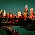 Rare Winter Scenery Around Charlotte North Carolina by Alex Grichenko