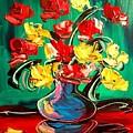 Roses by Mark Kazav