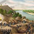 Siege Of Vicksburg, 1863 by Granger