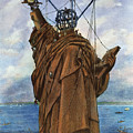 Statue Of Liberty 1886 by Granger