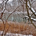 The Bass River In Winter by Scott Hufford