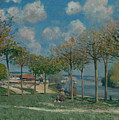 The Seine At Bougival by MotionAge Designs
