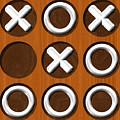 Tic Tac Toe Wooden Board Generated Seamless Texture by Miroslav Nemecek