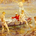 Tuke Henry Scott Ruby Gold And Malachite Henry Scott Tuke by Eloisa Mannion