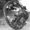 90 M P H Monocycle - 1933 by Daniel Hagerman
