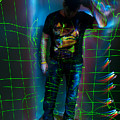 Light Painting Portrait by Chris  Look