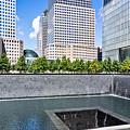 911 Memorial - Panorama by John Waclo