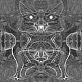 991 Feline  Creature by Irmgard Schoendorf Welch