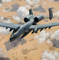 A-10 Thunderbolt Warthog by Mountain Dreams