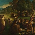 A Bacchanal 1515 by Dossi Dosso