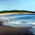 A Beach In Smithfield by Cindy Plutnicki