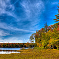 A Beautiful Autumn Day On West Lake by David Patterson