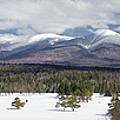 A Beautiful Panorama Of The Presidential Mountain Range In New H by Natalie Rotman Cote