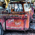 A Beautiful Rusty Old Tow Truck by Dennis Dame