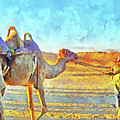 A Bedouin And His Camel by Digital Photographic Arts