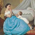 A Bedtime Prayer by Auguste Toulmouche