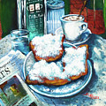 A Beignet Morning by Dianne Parks