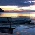 A Bench To Reflect by John Fabina