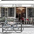 A Bicycle In Paris by Jim Pruett
