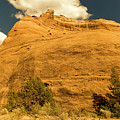 A Big Mountainous Rock On The Gemini Trail Moab Utah  by Jeff Swan