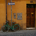 A Bike In Rome by Tom Reynen