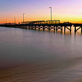 A Biloxi Pier Sunset - Mississippi - Gulf Coast by Jason Politte