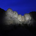 A Blue Rushmore by Christopher Miles Carter