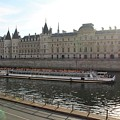 A Boat On The River Seine by Rikki Prince