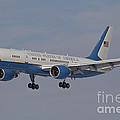 A Boeing C-32a Of The 89th Airlift Wing by Timm Ziegenthaler