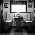 A Booth In Moody's Diner by Rick Berk