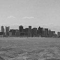 A Boston View In Black And White by Roberta Byram