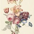 A Bouquet, Henriette Geertruida Knip, Ca. 1820 by Henriette Geertruida Knip