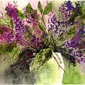 A Bouquet Of May-lilacs by Suzann Sines