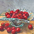 A Bowl Full Of Cherries by Franco Puliti