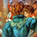 A Box In The Theater Des Varietes 1898 by Renoir PierreAuguste