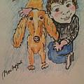 A Boy And His Dog by Geraldine Myszenski