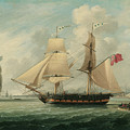 A Brig Entering Liverpool by John Jenkinson