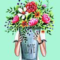 A Bucket Full Of Love by Elizabeth Robinette Tyndall