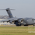A C-17 Globemaster Strategic Transport by Timm Ziegenthaler