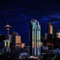 A Calgary Sunrise by Brad Allen Fine Art