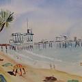 A California Pier by Eleanor Robinson