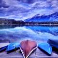 A Calm Afternoon At Lake Edith by Tara Turner