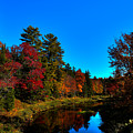 A Calm Fall Day On The Upper Moose by David Patterson