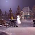A Calm Winters Night by John Junek