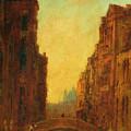 A Canal In Venice by Felix Ziem