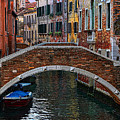 A Canal In Venice by Tom Prendergast